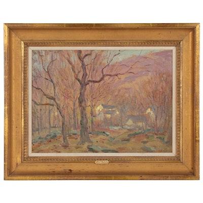 Eliot Candee Clark Landscape Oil Painting