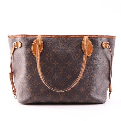 Louis Vuitton Neverfull PM in Monogram Canvas with Articles de Voyage Lining