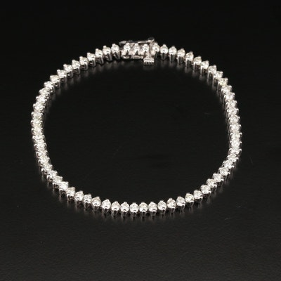 14K Gold 3.19 CTW Diamond Bracelet