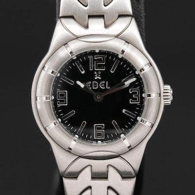 Ebel E Type Stainless Steel Quartz Wristwatch