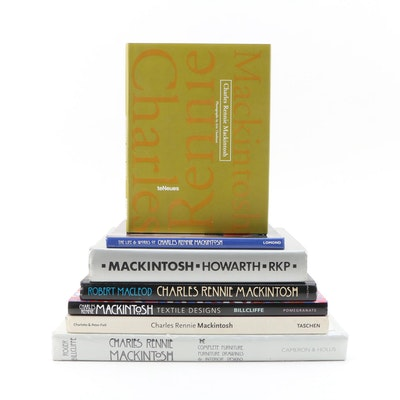 Charles Rennie Mackintosh Book Collection Including First Editions