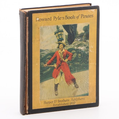 "Illustrated ""Howard Pyle's Book of Pirates"" Compiled by Merle Johnson"
