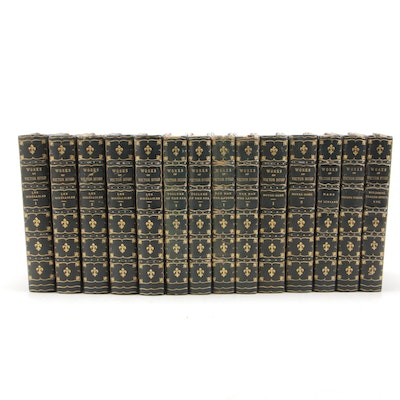 "Finely Bound Collection ""Works of Victor Hugo"", 1904 - 1907"