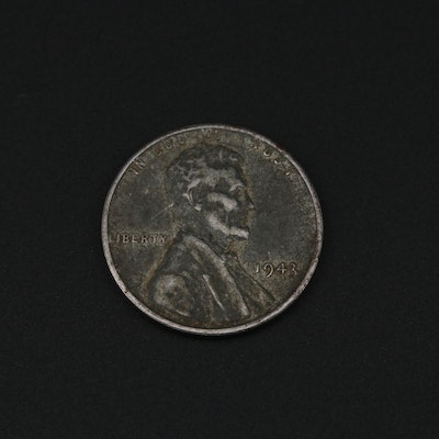 1943 Steel Lincoln Wheat Cent