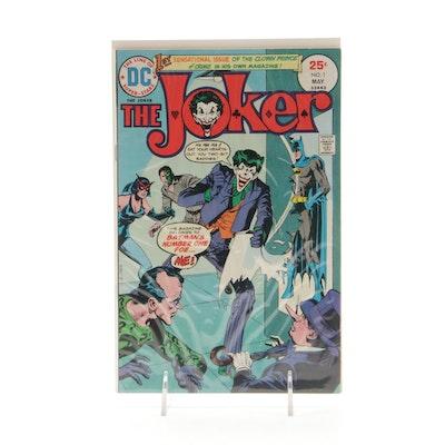 """The Joker"" No. 1, 1975 DC Comic Book"