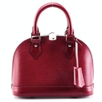 Louis Vuitton Alma PM Satchel in Fuchsia Epi Leather