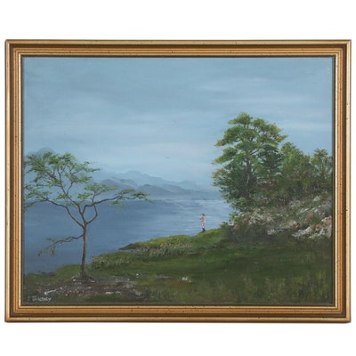 K. Tangney Landscape Oil Painting