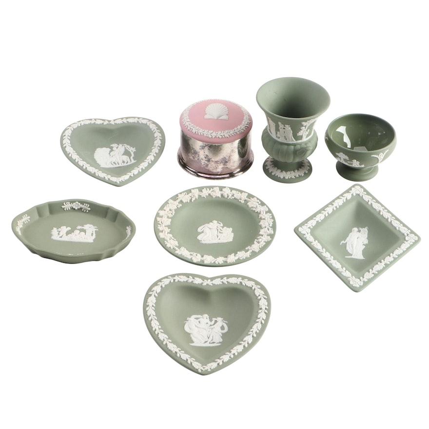 Wedgwood Jasperware Trinket Dishes
