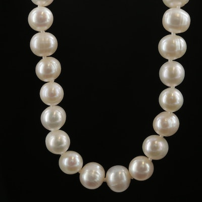 Endless Cultured Pearl Strand Necklace