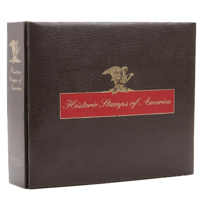 "Limited Edition Mint Commemorative ""Historic Stamps of America"" Album (1978-82)"