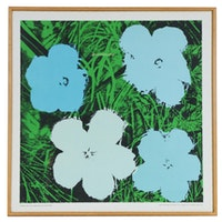 """Serigraph after Andy Warhol """"Flowers"""", circa 1964"""