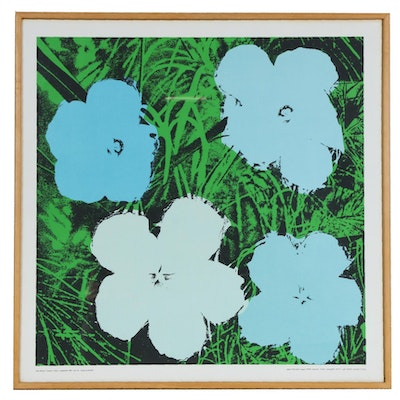 "Serigraph after Andy Warhol ""Flowers"", circa 1964"