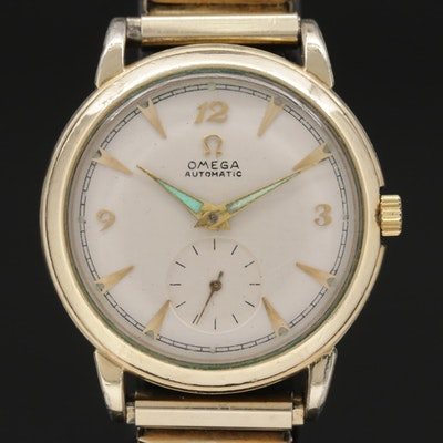 Vintage Omega 14K Gold Filled Automatic Wristwatch