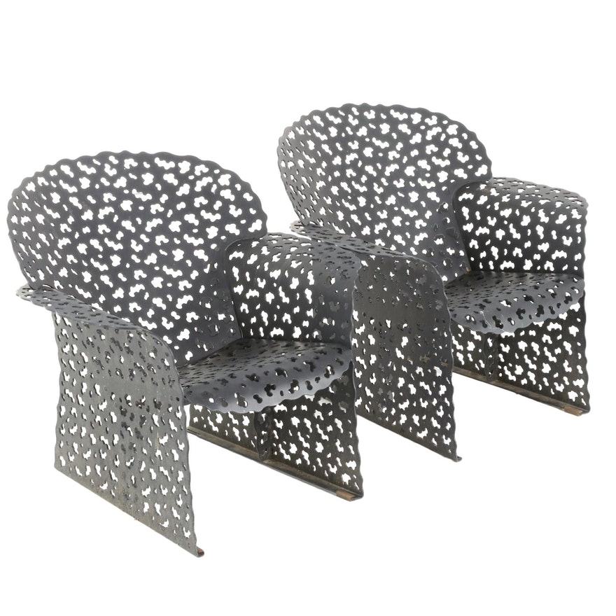 "Richard Schultz for Knoll ""Topiary"" Patio Lounge Chairs"