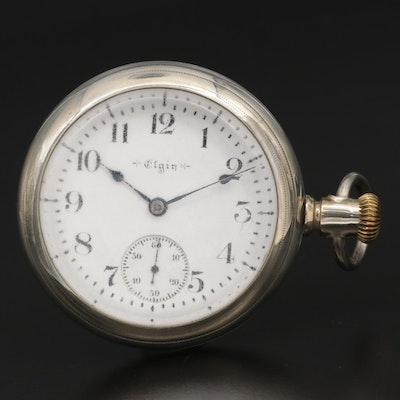 1900 Elgin Lever Set Side Winder Pocket Watch