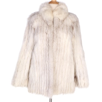 Saga Furs Fox Fur Coat