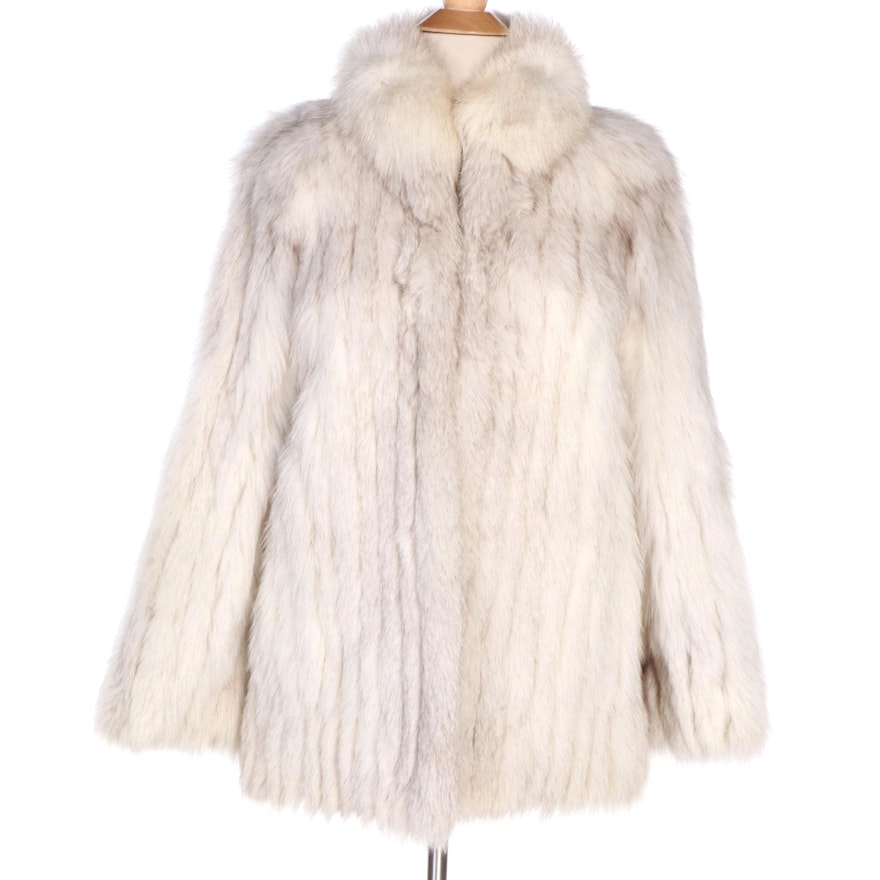 Saga Furs Fox Fur Coat