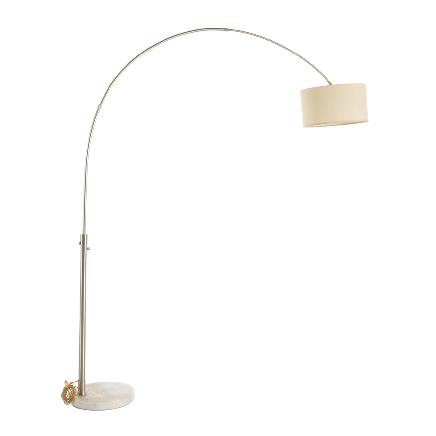 "Mid Century Modern ""Arco"" Floor Lamp After Achille Castiglioni"