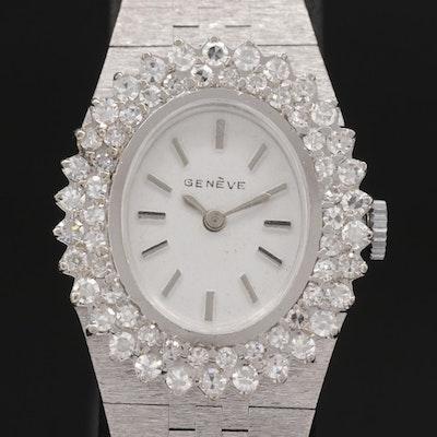 14K Gold and 1.55 CTW Diamond Swiss Quartz Wristwatch