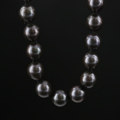 Pearl Strand Necklace with 14K Gold Clasp