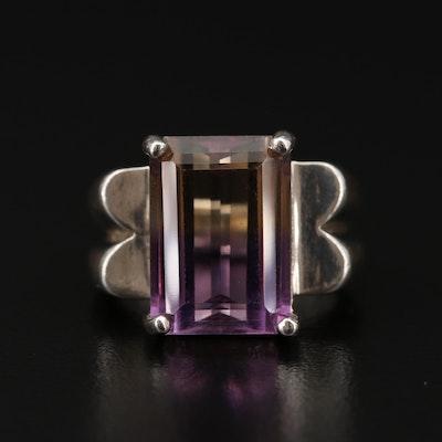 Sterling Ametrine Ring