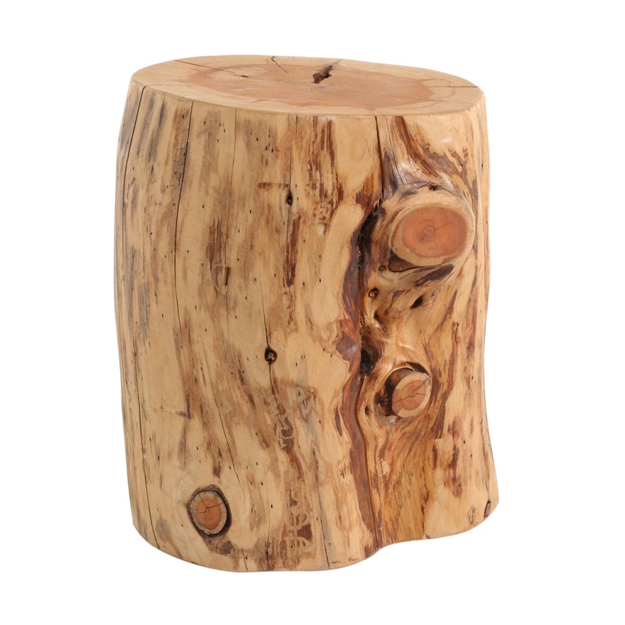 West Elm Natural Tree Stump Table