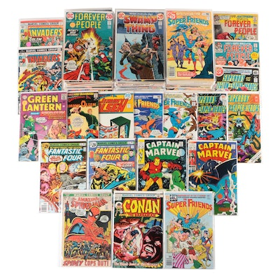 Comic Books, Features Spider-Man, Conan, Superman, Flash and More!