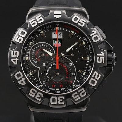TAG Heuer Formula 1 Grande Date Stainless Steel Chronograph Quartz Wristwatch