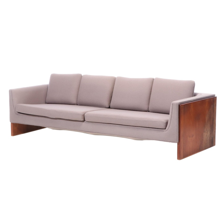 Otmar of Cincinnati Modernist Teak Sofa