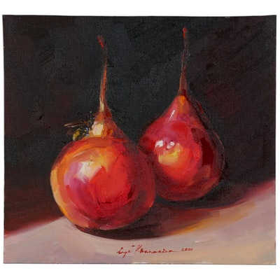 Inga Khanarina Still Life Oil Painting