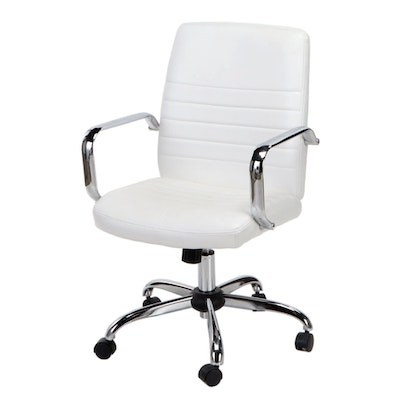 Global Furniture Contemporary Vinyl Swivel Office Chair