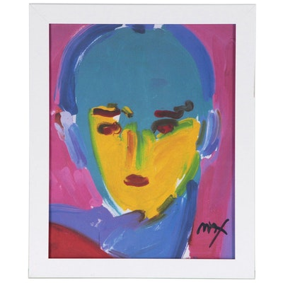 Offset Lithograph after Peter Max