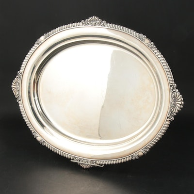 Howard & Co. of New York Sterling Silver Tea Tray, Late 19th/ Early 20th C.