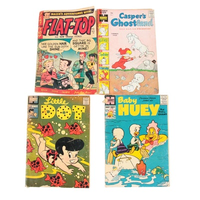 Baby Huey, Flat-Top, Casper's Ghost and Little Dot Golden Age Comic Books
