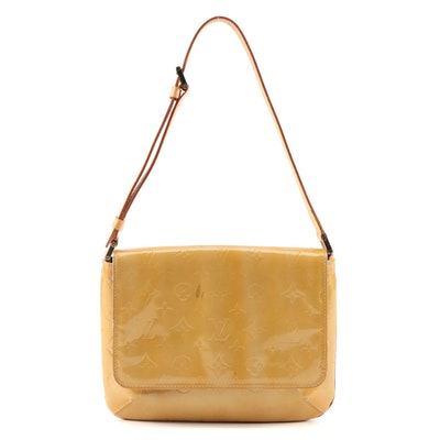 Louis Vuitton Thompson Street Front Flap Bag in Monogram Vernis