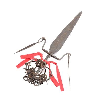 Central or West African Metal Prestige Blade