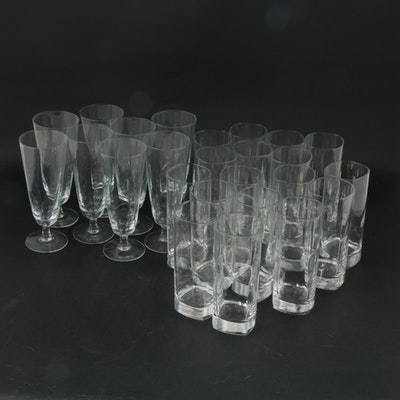 "Luigi Bormioli ""Strauss"" Highball and Iced Tea Beverage Stemware"
