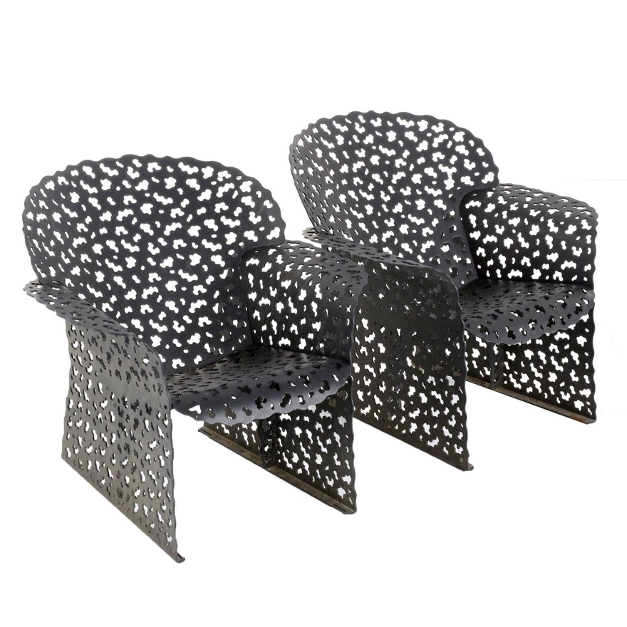 "Richard Schultz for Knoll ""Topiary"" Lounge Chairs"