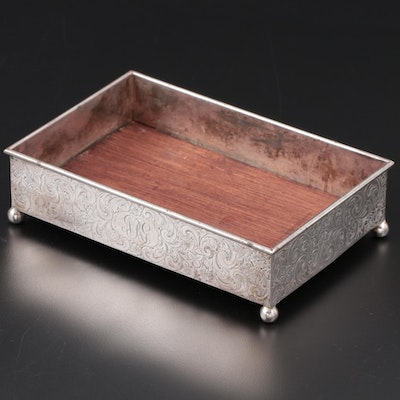 George A. Henckel & Co. Sterling Silver Vanity Tray, Early to Mid 20th Century