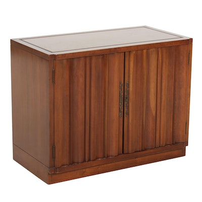 Heritage Henredon Maple Veneer Side Cabinet