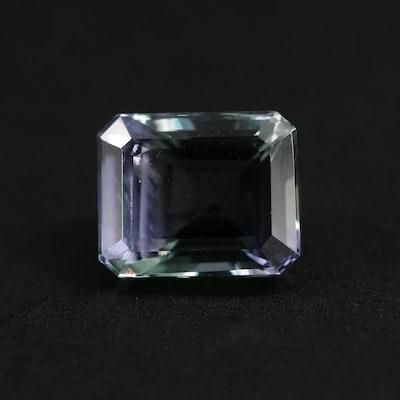 Loose 6.16 CT Tanzanite Gemstone
