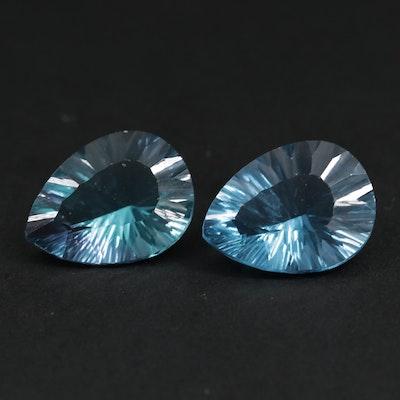 Loose 31.43 CTW Fluorite Gemstones