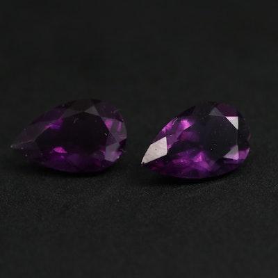 Loose 4.76 CTW Amethyst Gemstone