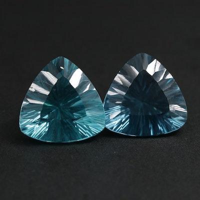 Loose 29.00 CTW Fluorite Gemstones