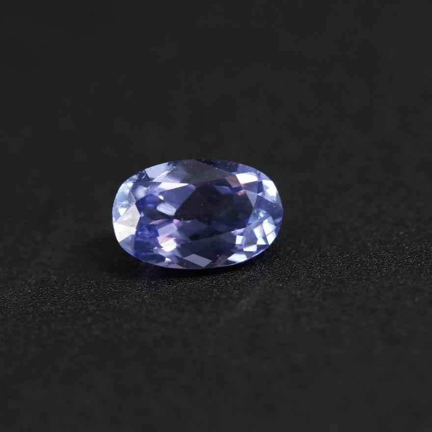 Loose 0.94 CT Tanzanite Gemstone