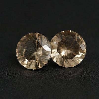 Loose 6.50 CTW Citrine Gemstones