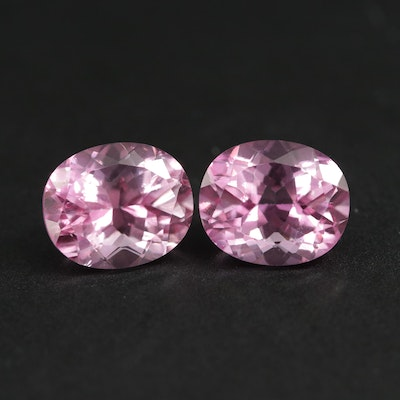 Loose 13.12 CTW Oval Faceted Topaz