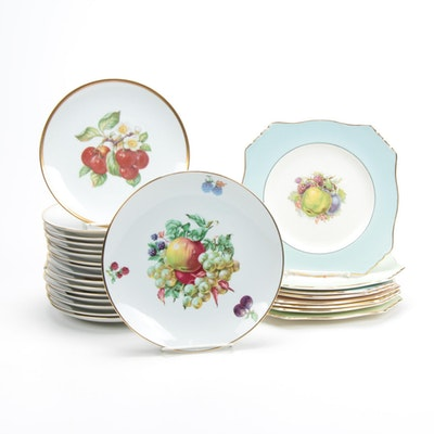 Hutschenreuther, Royal Winton & Grimwades and More Fruit Plates