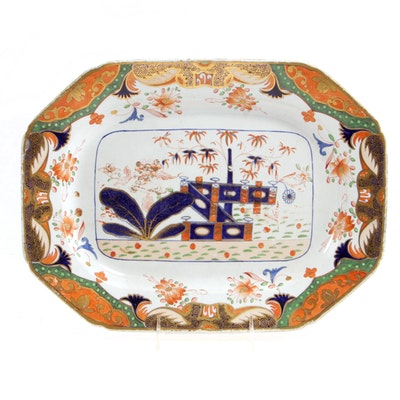 "Spode Stone China ""967"" Serving Platter, 1815-30"