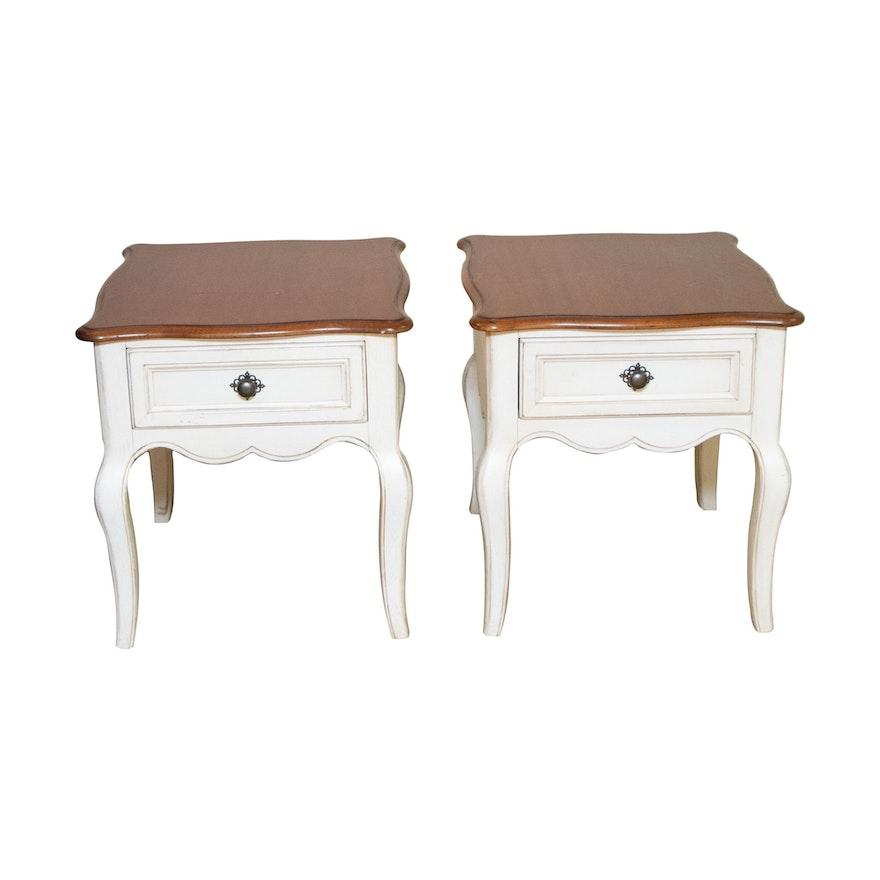 Pair of Drexel-Heritage Side Tables
